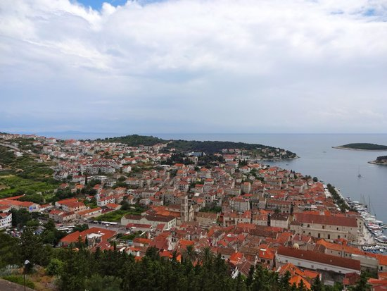 Villa Skansi : View of beautiful Hvar !