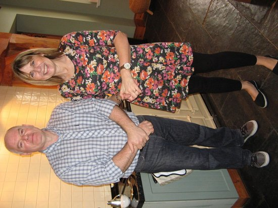 Buccleuch Guest House : Stuart and Lorna