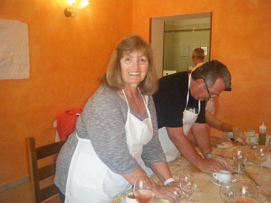 B&B Baia di Trentova: Louise and Paul - Cooking Class