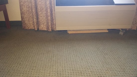 Quality Inn Duluth: leakin AC wet moldy carpet