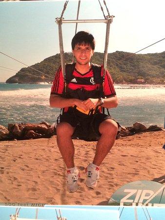 Dragons Breath Zipline: Flamengo!