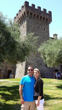 Wine Country Tour Shuttle: Castello Di Amorosa