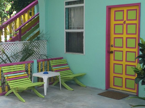 Barefoot Beach Belize: Our porch hangout