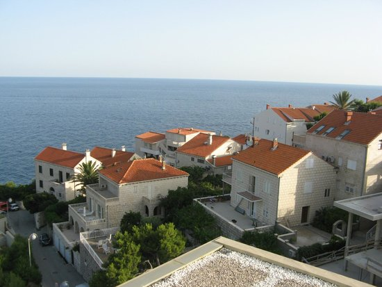 Rixos Hotel Libertas: rooftop view from suite