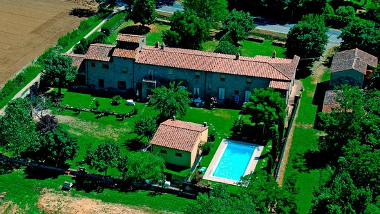 Agriturismo Il Gelso: Aerea