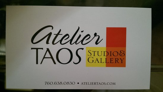 Atelier Taos and Shane Barksdale