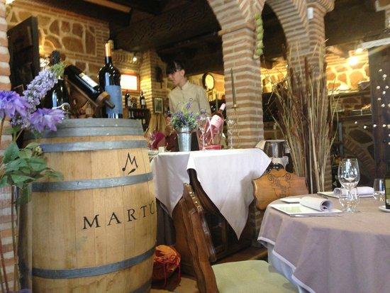 Restaurante La Orza: salón