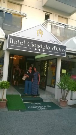 Hotel Ciondolo D'Oro : comodo