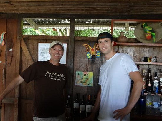 Anaconda Lodge Ecuador: Great Friend from Michigan!