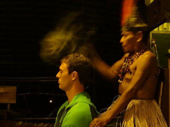 "Anaconda Lodge Ecuador Amazonia: ""Limpia Kichwa"""