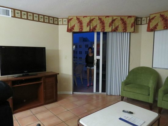 Vacation Village at Bonaventure: SALA UNIDADE A