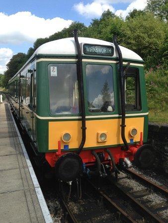 Ecclesbourne Valley Railway: At Wirksworth Station.