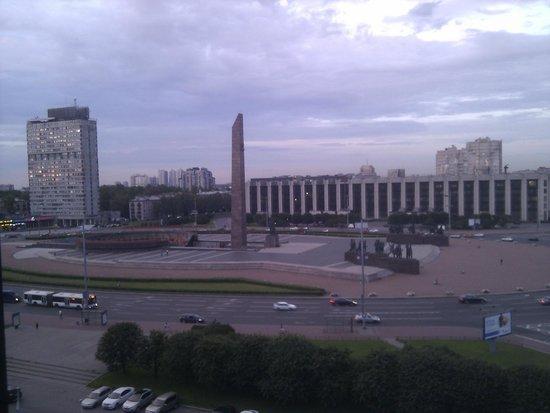 Park Inn By Radisson Pulkovskaya: View from room on 7th floor