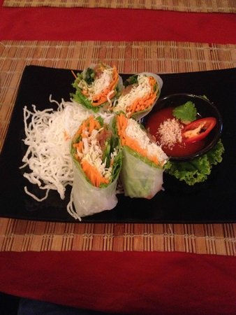Fifty-Six Fusion Cuisine : The Spring Rolls