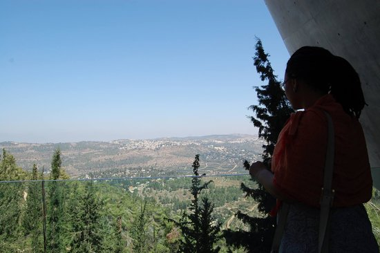 Yad Vashem -  The World Holocaust Remembrance Center: Miradouro para Jerusalém