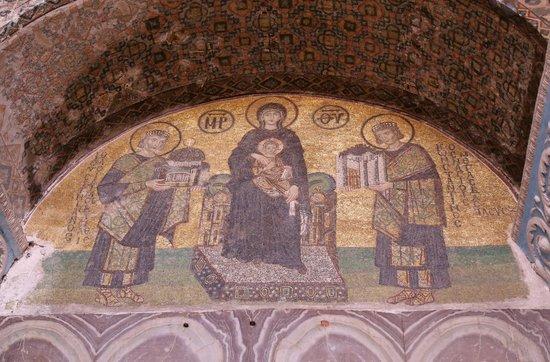 Hagia Sophia Museum / Church (Ayasofya): 素晴らしモザイク