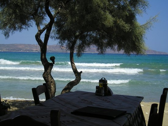 Almyrida Beach Hotel: View from our favourite restaurant