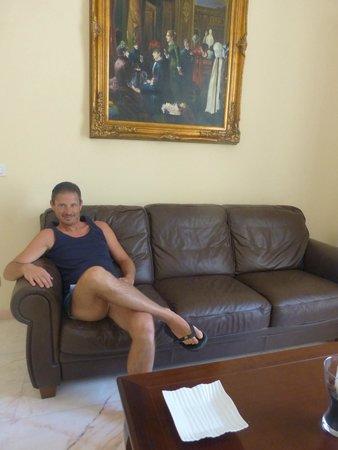 Palazzo Volta: saloni relax