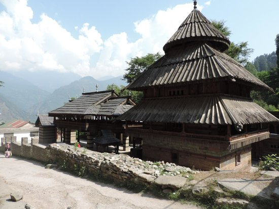 Naggar, India: Tripura Sundari Temple