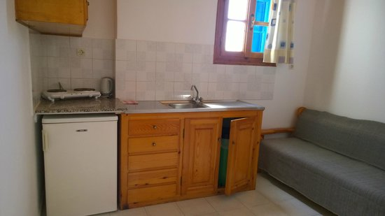 Anemos Hotel-Apartments & Studios: our kitchen, dining, lounge area
