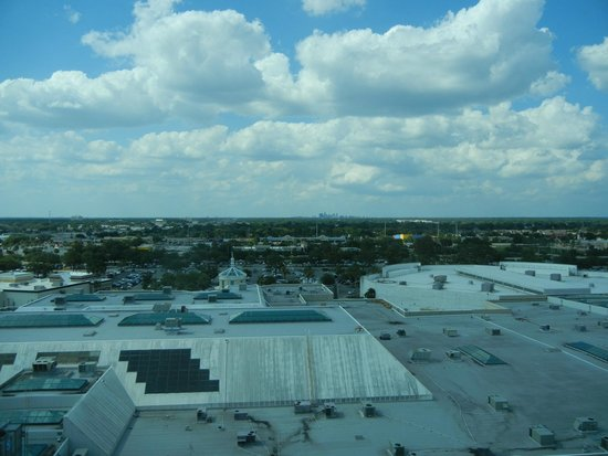 The Florida Hotel & Conference Center, BW Premier Collection: Distant Downtown Orlando from upper floor room