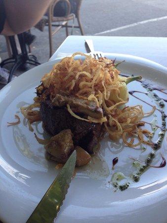 Cafe Christine : Delicios steak