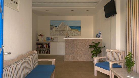 Anemos Hotel-Apartments & Studios: Reception