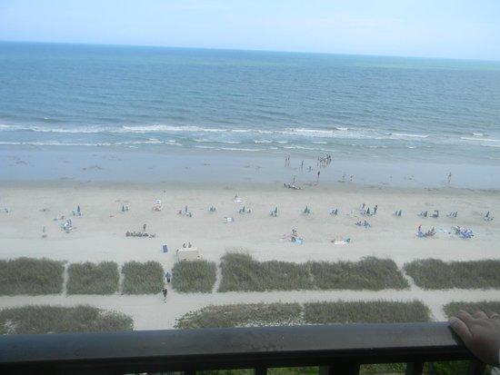 Ocean Park Resort, Oceana Resorts: vue de la mer de notre chambre