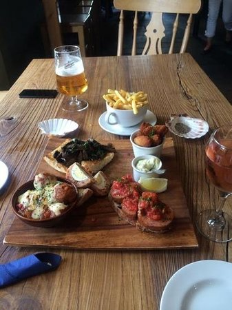 The Holt: tapas selection
