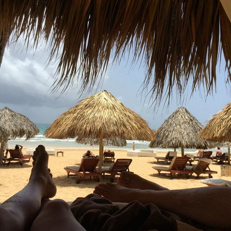 Excellence Punta Cana : Covered Beach Cabana