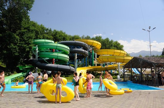 Aquapark in Gorky Park