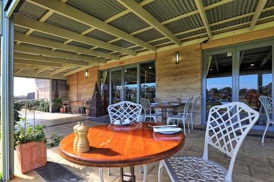 Fillaudeau's restaurant veranda sitting