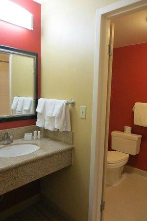 Courtyard Boston Milford: Bathroom