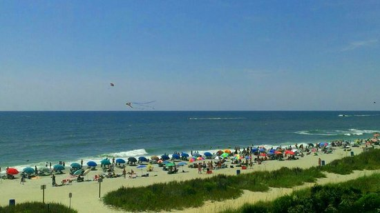 Hotel Blue: Myrtle beach from rm 412