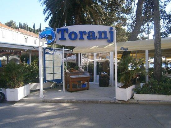 Konoba Toranj: entrada