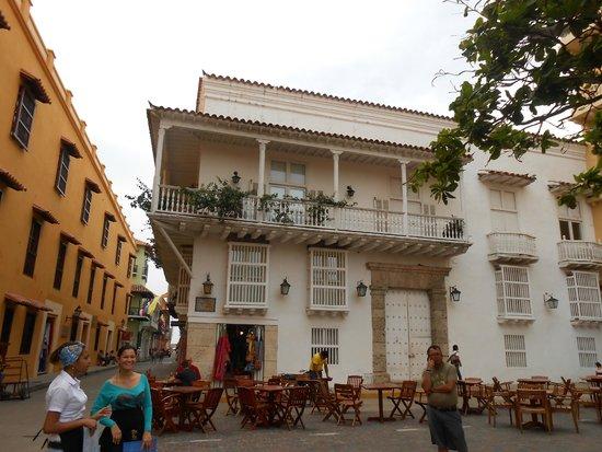 Ciudad amurallada: construçõesde Cartagena