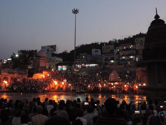 Ganga Aarti at Haridwar: Ганга Аарти