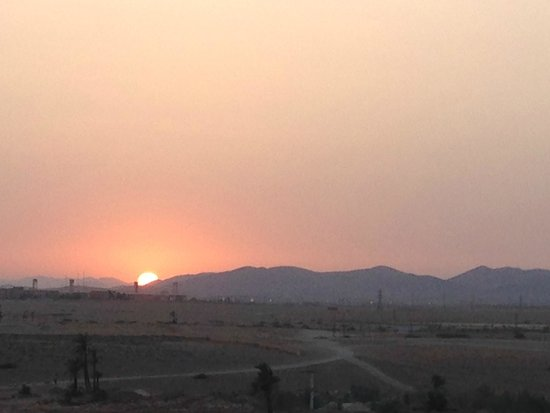 Kasbah Le Mirage: Sunset over the Atlas