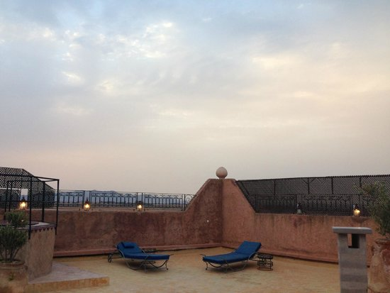 Kasbah Le Mirage : View from the rooftop terrace