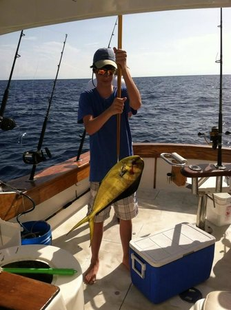 First Choice Charters, Deep Sea Fishing: The first catch of the day