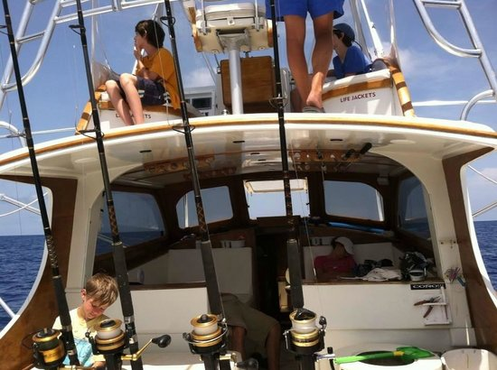 First Choice Charters, Deep Sea Fishing: After a long day fishing REST!