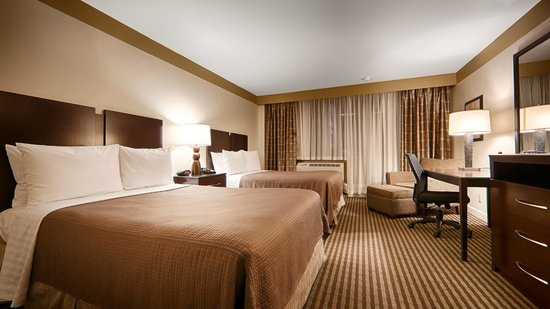 Best Western River North Hotel : Room with Two Double Beds