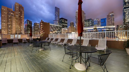 Best Western River North Hotel : Rooftop Sundeck