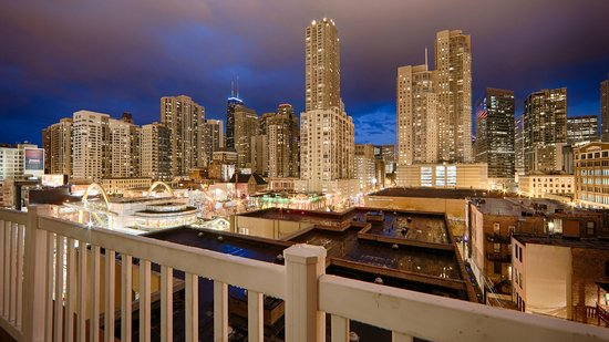Best Western River North Hotel : View from Sundeck