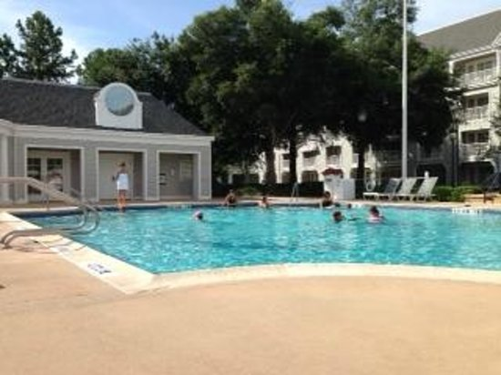 Disney's Yacht Club Resort: Quiet pool