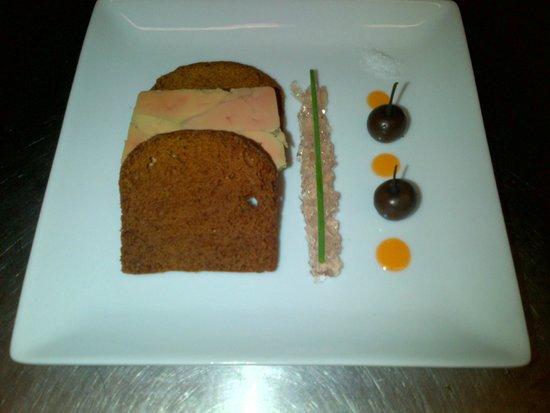 Le P'Tit Chouan: terrine de foie gras pain d'épices