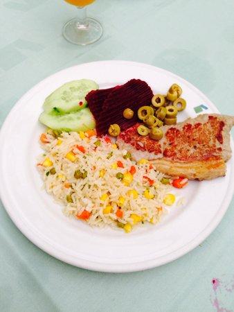 Marylanza Suites & Spa : Food