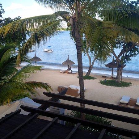 Angsana Balaclava Mauritius: View from balcony