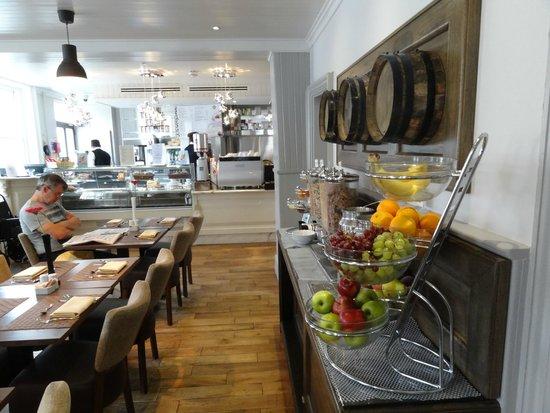 The Westbridge Hotel: Salle du déjeuner
