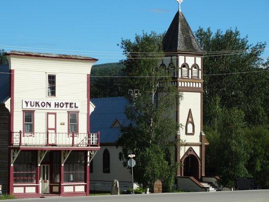 Sourdough Joe's : Front Street-Dawson City, where you find Sourdough Joe's.